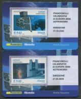 ITALIA TESSERA FILATELICA 2009 - EUROPA CEPT ASTRONOMIA - 316 - 6. 1946-.. Republik