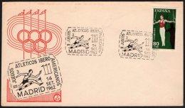 ATHLETICS - ESPANA MADRID 1962 - II JUEGOS ATLETICOS IBEROAMERICANOS - Atletica