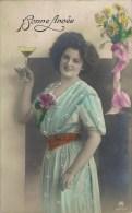 BONNE ANNÉE. - 1913 - - Nouvel An