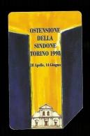 804 Golden - Ostensione Della Sidone Da Lire 5.000 Telecom - Italia