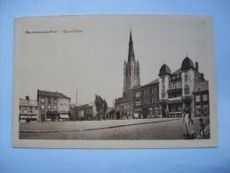 Ma Réf: 55-6-55.                MARCHIENNE-AU-PONT     Grand'Place.     ( Teinte Ocre ). - Charleroi