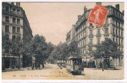 69 - LYON - Place Vendôme Et Le Cours Gambetta - Lyon