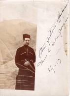 1913,  Photo D´homme Georgien, Poignard  (22.49) - Guerre, Militaire
