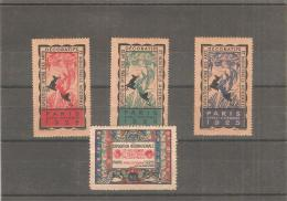 Ficha Viñetas De Paris 1925 - Francia