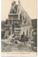 PONT  DU  GARD  -    COUPURE  DU  PONT    CIRCULEE  EN  1907 - Remoulins