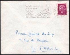 FRANCE VILLARD-DE-LANS 1968 - X JEUX OLYMPIQUES D'HIVER - FLAMME - Inverno1968: Grenoble