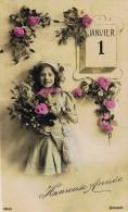 HEUREUSE  ANNÉE  - 1910 - - Enfants