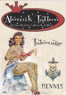 21988 Femme Tatouage -atomik Tatto - Rennes 35 France Pin Up -tatoo Tatoueur - 192 Rue Nantes - Rennes