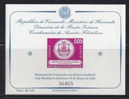 VENEZUELA 1962 - Yvert #H10 - MNH ** - Venezuela