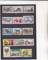 SENEGAL : Y&T : Lot De 15 Timbres  O - Sénégal (1960-...)