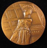 M00677 UNESCO Acropole, GRECE, 1977, Santucci, 110 G. - Jetons & Médailles