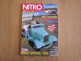 NITRO Revue N° 146 Auto Automobiles Américaines Customs Corvette Buick Ford - Auto/Moto