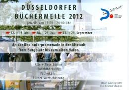 AK 2012 Düsseldorf Büchermeile - Märkte