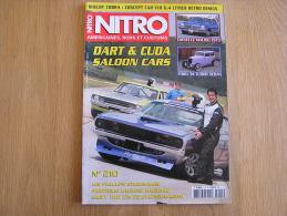 NITRO Revue N° 210  Auto Automobiles Américaines Cars Customs Studebaker Ford Chevelle Chevy Laurent Bagnard Shelby - Auto/Moto