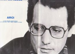 C1255 - MANIFESTO Arci-Cipiesse ENZO JANNACCI In TOUR - Manifesti & Poster