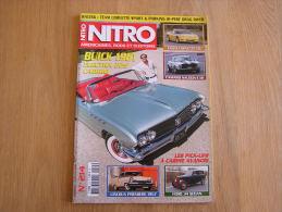 NITRO Revue N° 214  Auto Automobiles Américaines Cars Customs Ford Buick Lincoln Camaro Chevrolet Corvette - Auto/Moto