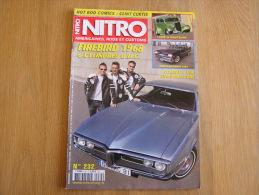 NITRO Revue N° 232  Auto Automobiles Américaines Cars Customs Ford Plymouth Dodge Firebird - Auto/Moto