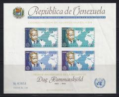 VENEZUELA 1963 - Yvert #H11 - MNH ** - Venezuela