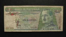 Guatemala - 1 Quetzal - 1986 - P 66 - F - Look Scan - Guatemala