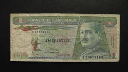 Guatemala - 1 Quetzal - 1987 - P 66 - F - Look Scan - Guatemala