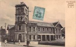 Trinidad - Fire Brigate Station Trinidad B.W.I. - Trinidad