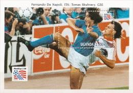 Uganda MNH SS And 4 More Sets - World Cup