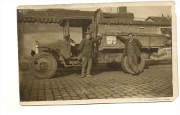 69/ Villeubanne - Carte Photo De L'entreprise Egenrale De Batiment Ortega Devanr Leur Camion - - Villeurbanne