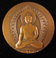 M00680 UNESCO Buddha Borobudur 1976,Simon, 108 G. - Jetons & Médailles