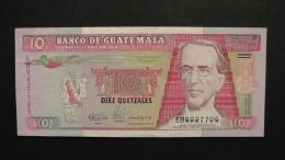 Guatemala - 10 Quetzales - 1990 - P 75a - XF - Look Scan - Guatemala