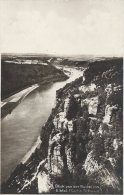 Blick Von Der Bastei Ins Elbtal.  Sent To Schweden  1931      # 02676 - Bastei (sächs. Schweiz)