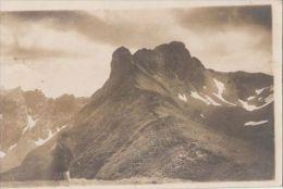 CPA S. K. V. SIBIU, HUNTING, MOUNTAINS, VERY RARE ROUND HUT STAMP - Rumänien