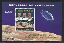 ESPACIO - VENEZUELA 1969 - Yvert #H16 - MNH ** - Raumfahrt