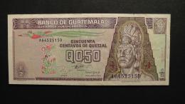 Guatemala - 1/2 Quetzal - 1993 - P 86a - VF+  - Look Scan - Guatemala