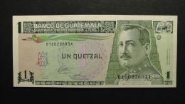 Guatemala - 1 Quetzal - 1995 - P 87c - Unc  - Look Scan - Guatemala