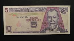 Guatemala - 5 Quetzales - 1998 - P 100 - Unc  - Look Scan - Guatemala