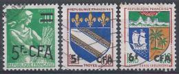 Réunion N°346 à 346B Obl. - Réunion (1852-1975)