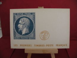 FDC, Les Premiers Timbres Poste Français - Toulouse - 17.8.1952 - 1er Jour - Carte Maxi - Timbres (représentations)
