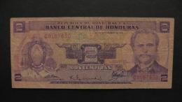 Honduras - 1 Lempiras- 1976 - P 61 - F  - Look Scan - Honduras