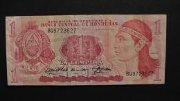 Honduras - 1 Lempira- 1989 - P 68c - VF  - Look Scan - Honduras