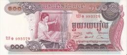 BILLETE DE CAMBOYA DE 100 RIELS  (BANKNOTE) SIN CIRCULAR-UNCIRCULATED - Cambodia