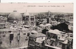 JERUSALEM 6 GENERAL VIEW AND EZECHIAS CITERN - Israele