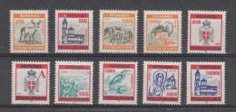 Repubblica Serba Di Krajina Nuovi: N. 1-5 + 8-12 ** - Serbia