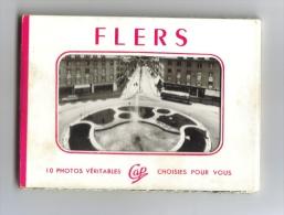 Carnet 10 Minivues Flers - Flers