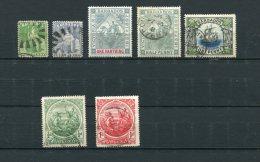 Barbados 1855-97 Sc 5,16,81-2,109,128-9 Used Cv $137.00 - Barbados (...-1966)