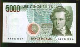 BANCONOTA DA LIRE 5000 - CIAMPI - [ 2] 1946-… : Repubblica