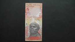 Venezuela - 5 Bolivares - 2007 - P 89a - Unc  - Look Scan - Venezuela