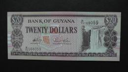 Guyana - 20 Dollar - 1996 - P 30b - Unc  - Look Scan - Guyana
