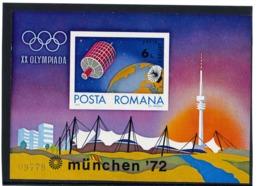 Block  Marke  98 **    Rumänien    1972 - 1948-.... Républiques