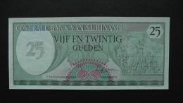 Suriname - 25 Gulden - 1985 - P 127b - Unc  - Look Scan - Suriname