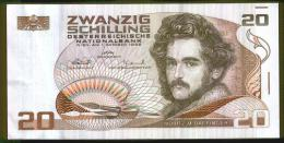 BANCONOTA AUSTRIACA DA 20 SCELLINI - Oesterreich